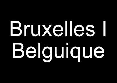 Le monde au singulier : Bruxelles i